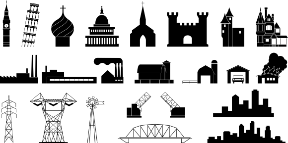 download free vector clipart buildings collection rh evectorize com free vector clipart images download free vector clipart images download